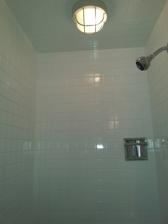 Ceramic tile refinishing